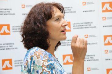 Rita Regalė. Streso valdymo paskaita LAKD